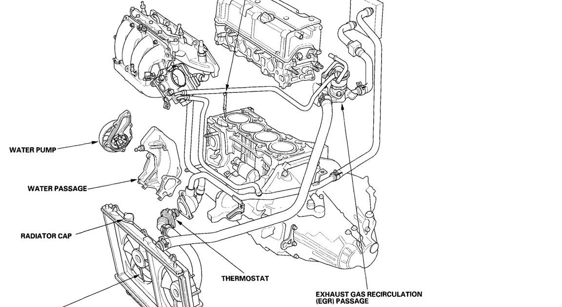 2003 Honda Civic Radiator Fan Wiring Diagram : Cooling Fan