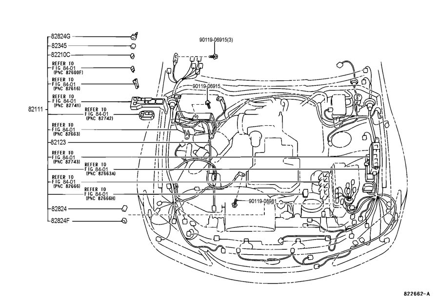 Bestseller: 2001 Lexus Is300 Engine Wiring Harness