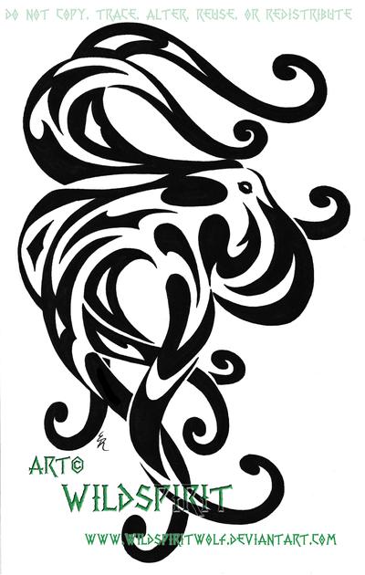 Pearl: 10+ Elegant Tribal Octopus Tattoo
