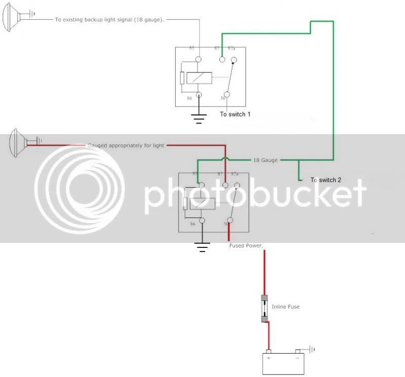 Backup Light Wiring Diagram
