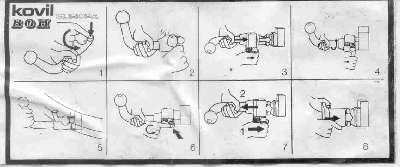 Et øjeblik i livet af rytteren: Montera dragkrok manual