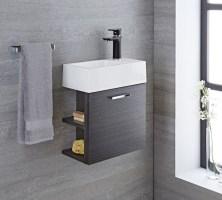 Gaste Wc Waschbecken Mit Unterschrank Und Spiegel