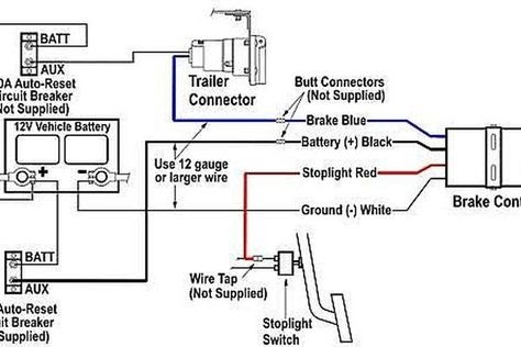 Wiring Diagram For A Tekonsha Trailer Ke Controller
