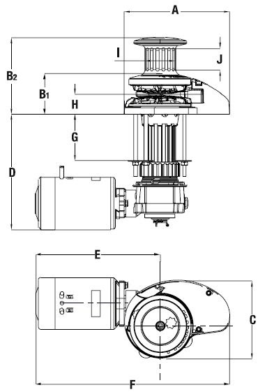 Wiring Diagram: 28 Maxwell Windlass Parts Diagram
