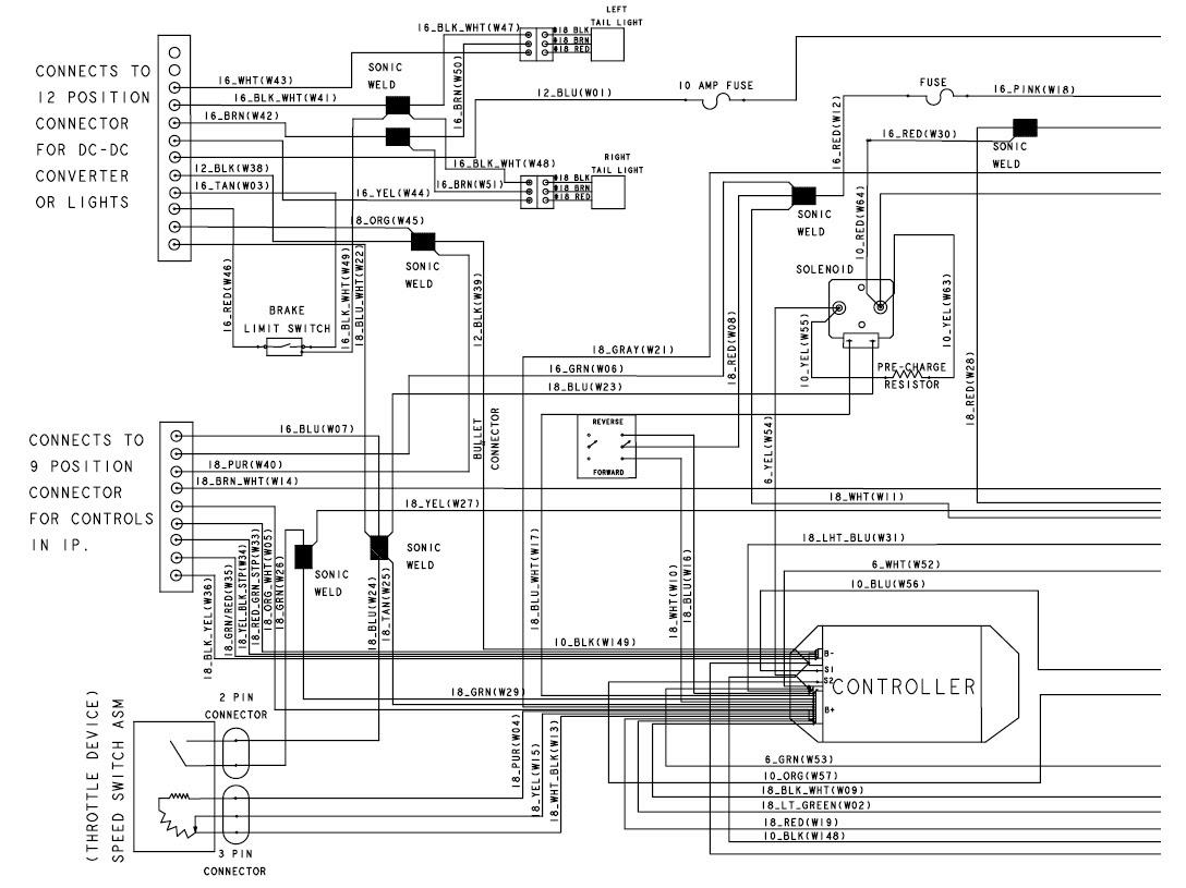36+ 2007 Club Car Precedent 48 Volt Wiring Diagram