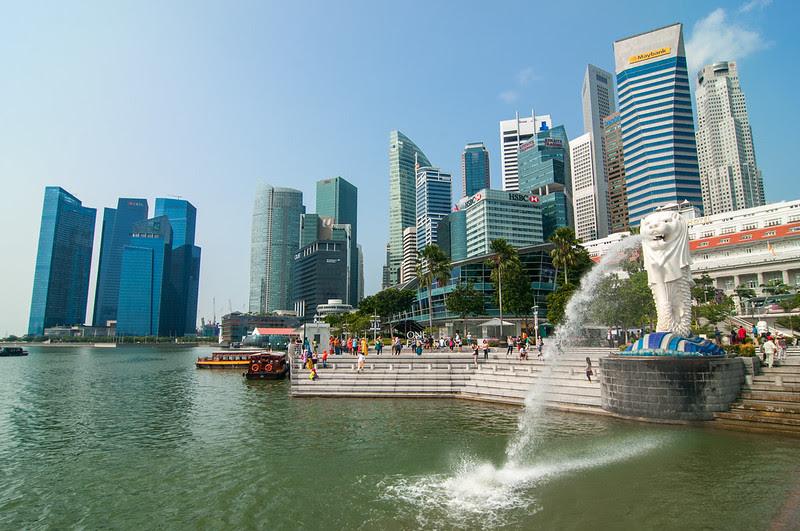 六康康的攝影足跡: [新加坡魚尾獅]新加坡自由行D2-2探訪新加坡,要是沒來看他,你就不能說你來過新加坡囉 ...