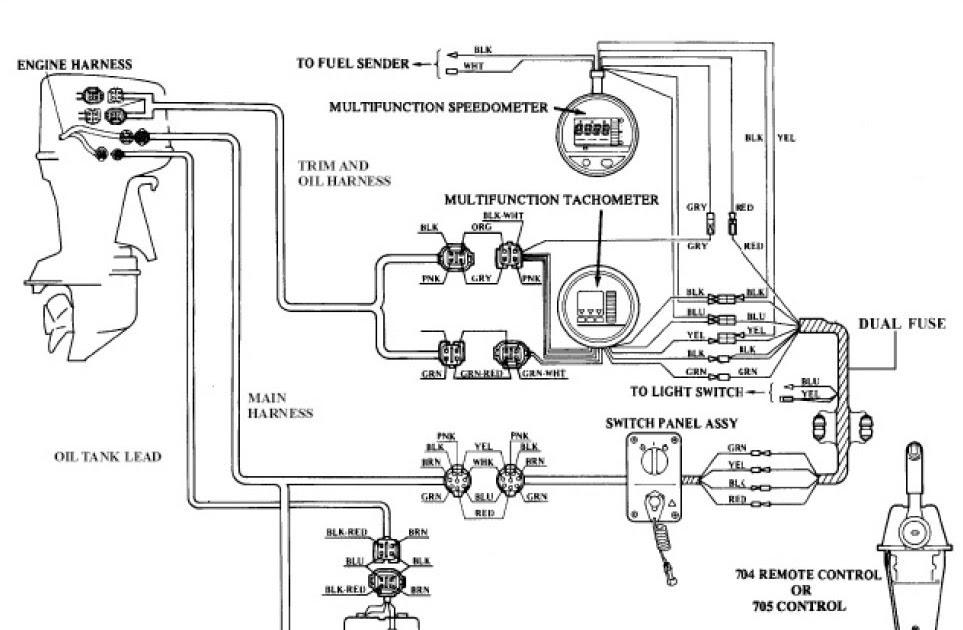 Yamaha Outboard Electrical Wiring Diagram : FMAA_9550