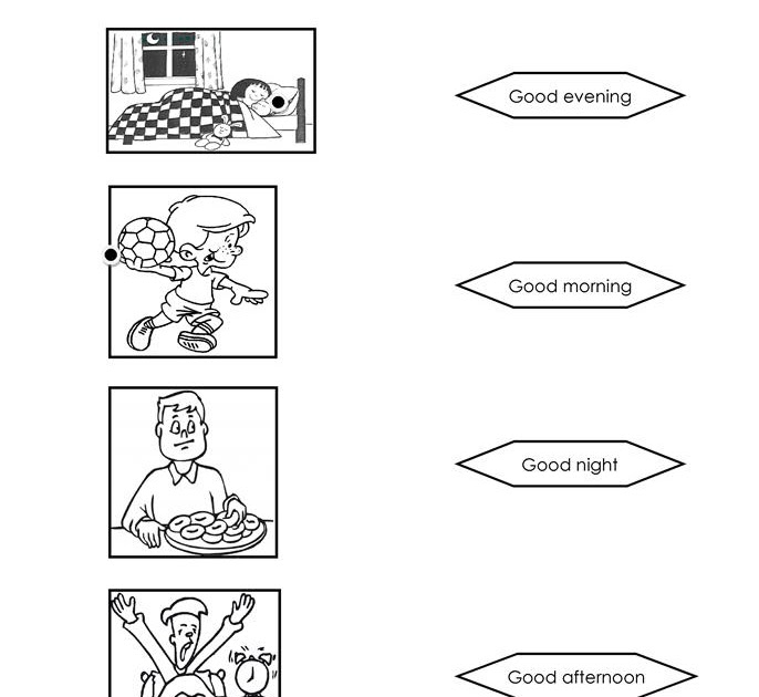 62 [FREE] GREETINGS WORKSHEET FOR GRADE 1 PDF PDF