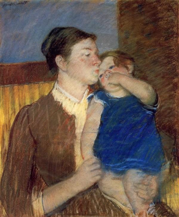 Galer De Pintura Madre Hija - Mary Cassatt