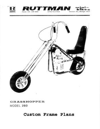 Ruttman Mini Bike : ruttman, Ruttman, Parts