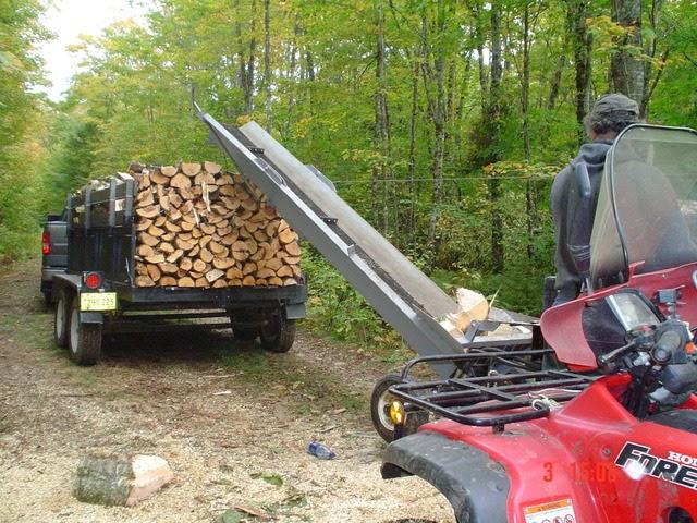 Backyard Plan Idea Buy Build Firewood Conveyor