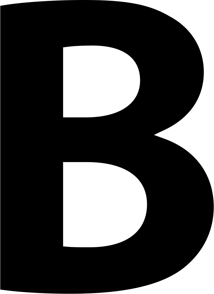 Letter B In Different Fonts : letter, different, fonts, Letter, Different, Fonts