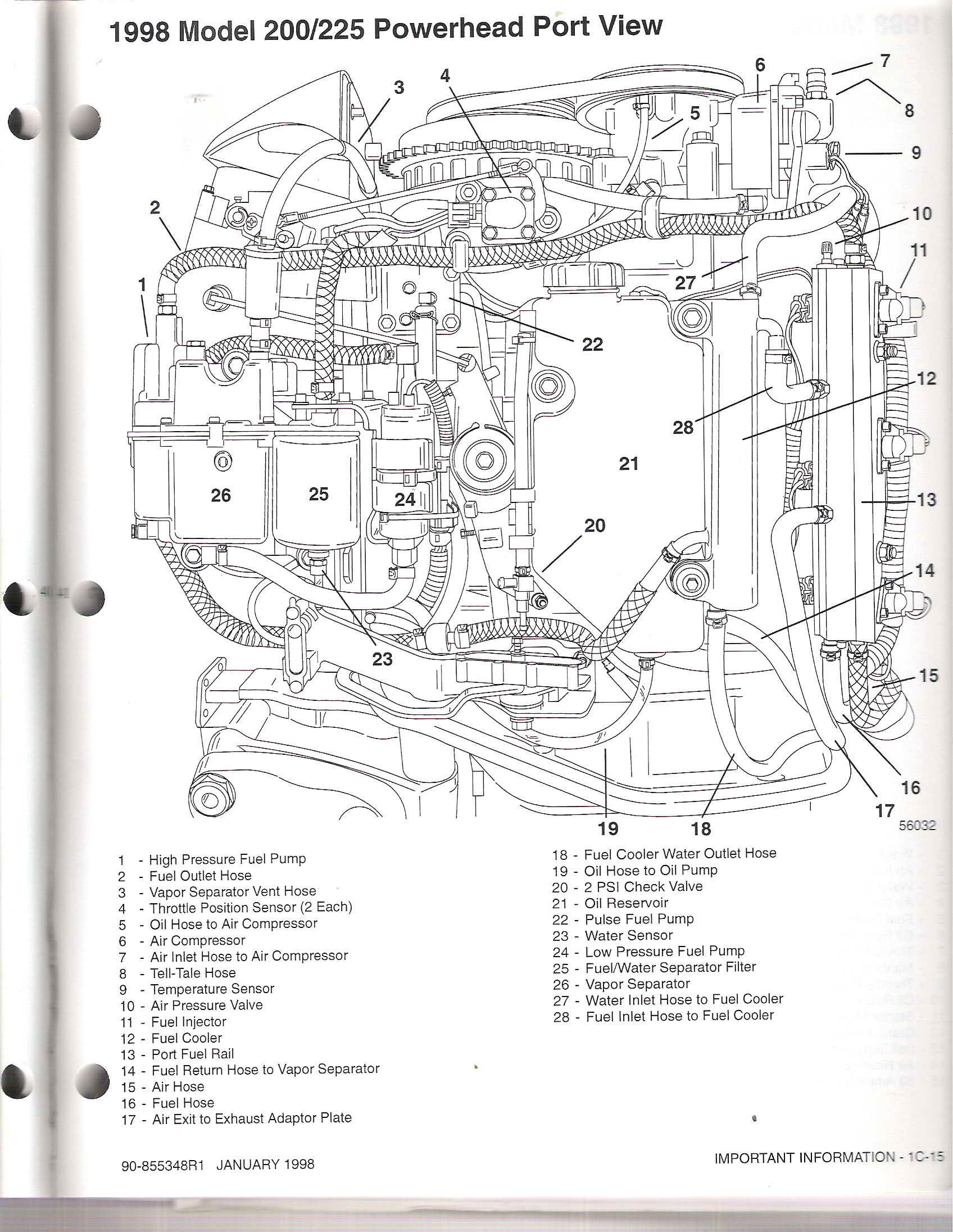 Wiring Diagram: 35 Optimax Fuel System Diagram