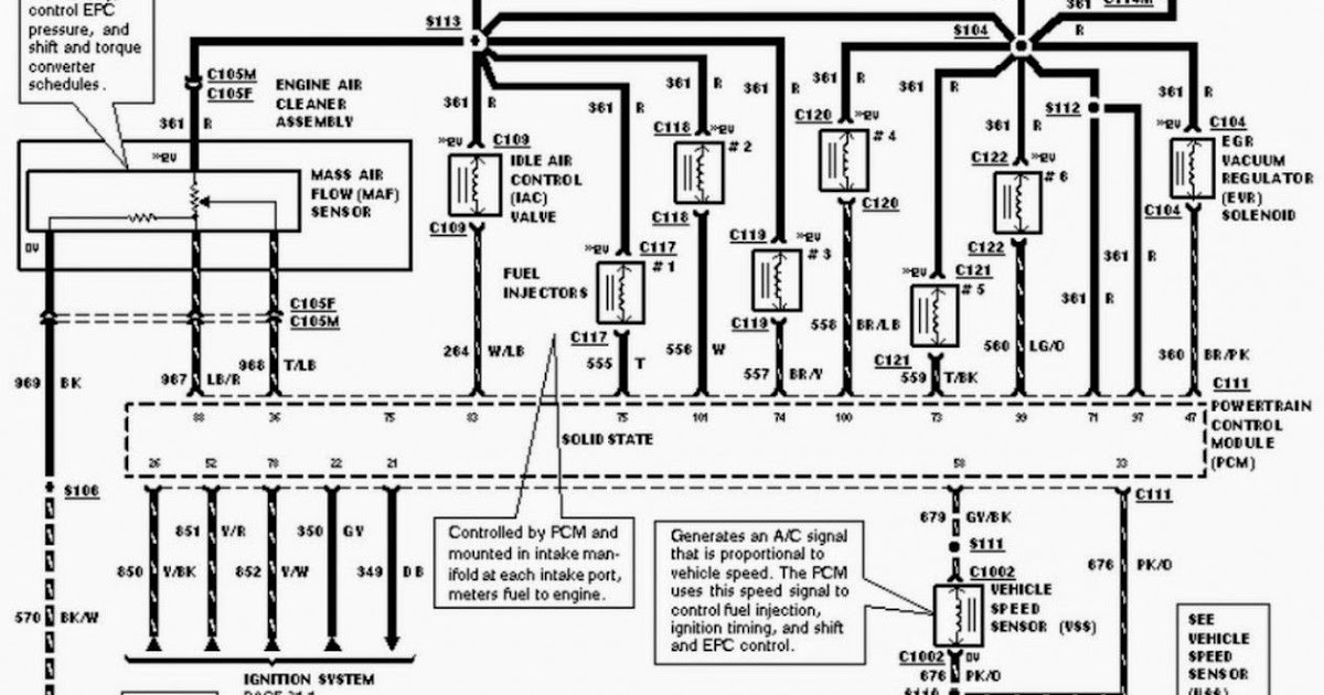 2007 Ford Mustang Engine Diagram : 2007 Ford Mustang V6