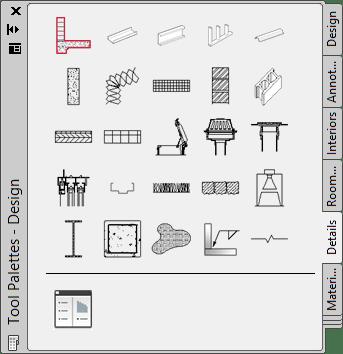 JTB World Blog: AutoCAD Architecture Detail Components