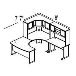 Cyrus Calderon: Bush Advantage Light Oak Configuration 18