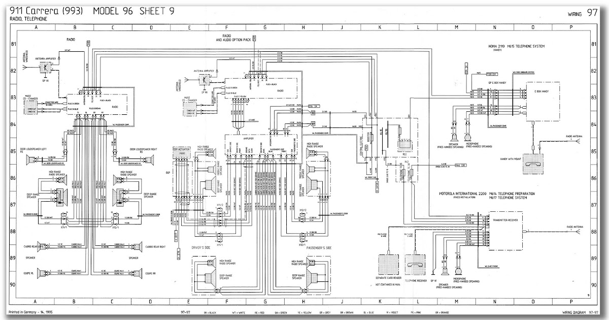 [DIAGRAM] Wiring Diagram Awesome Sle Detail Porsche 993