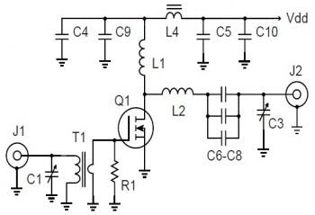 circuits: 500W 27Mhz RF Amplifier Circuit