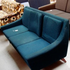 Dux Sofa By Folke Ohlsson Gold Chenille Mid-century Living: Reupholstered