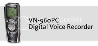 Olympus Digital Voice Recorder VN-960PC Software