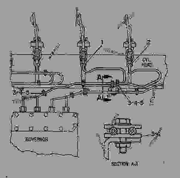 Cat 3406b Fuel Pump Diagram