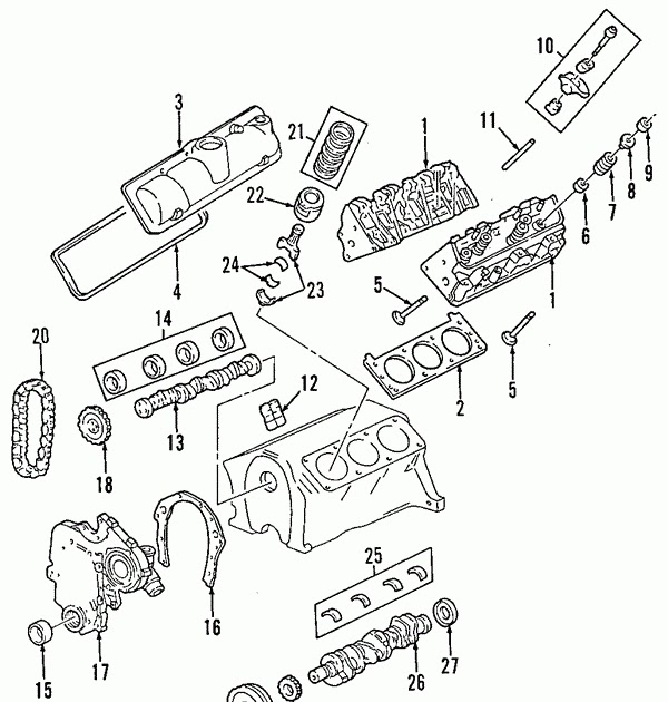 Wiring Diagram: 35 Chevy Equinox Parts Diagram