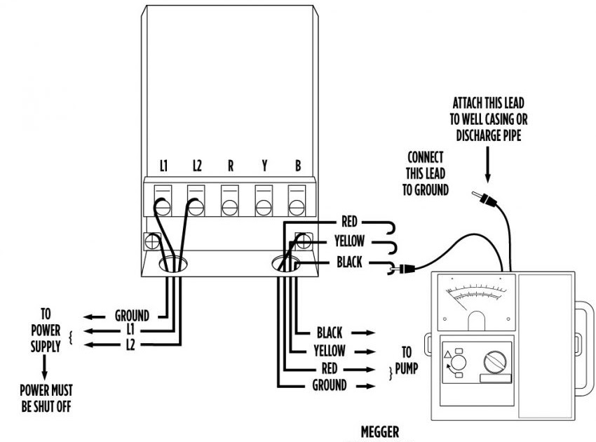 Wiring Diagram For Well Pressure Switch