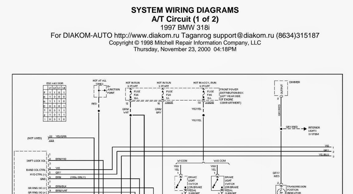 Bmw Audio Wiring Diagram