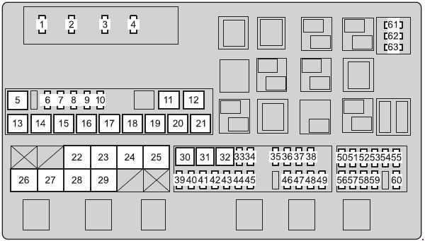 Land Cruiser Fuse Box Diagram : 79 Series Land Cruiser