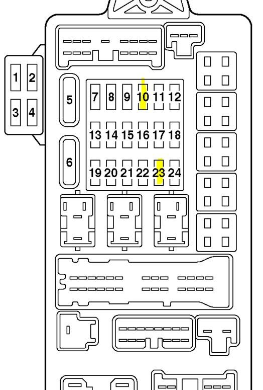 [DIAGRAM] 1996 Montero Fuse Box Diagram FULL Version HD