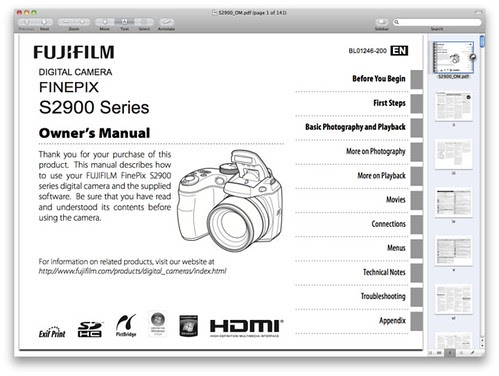 Bestseller: Fujifilm Finepix S2950 Manual Download