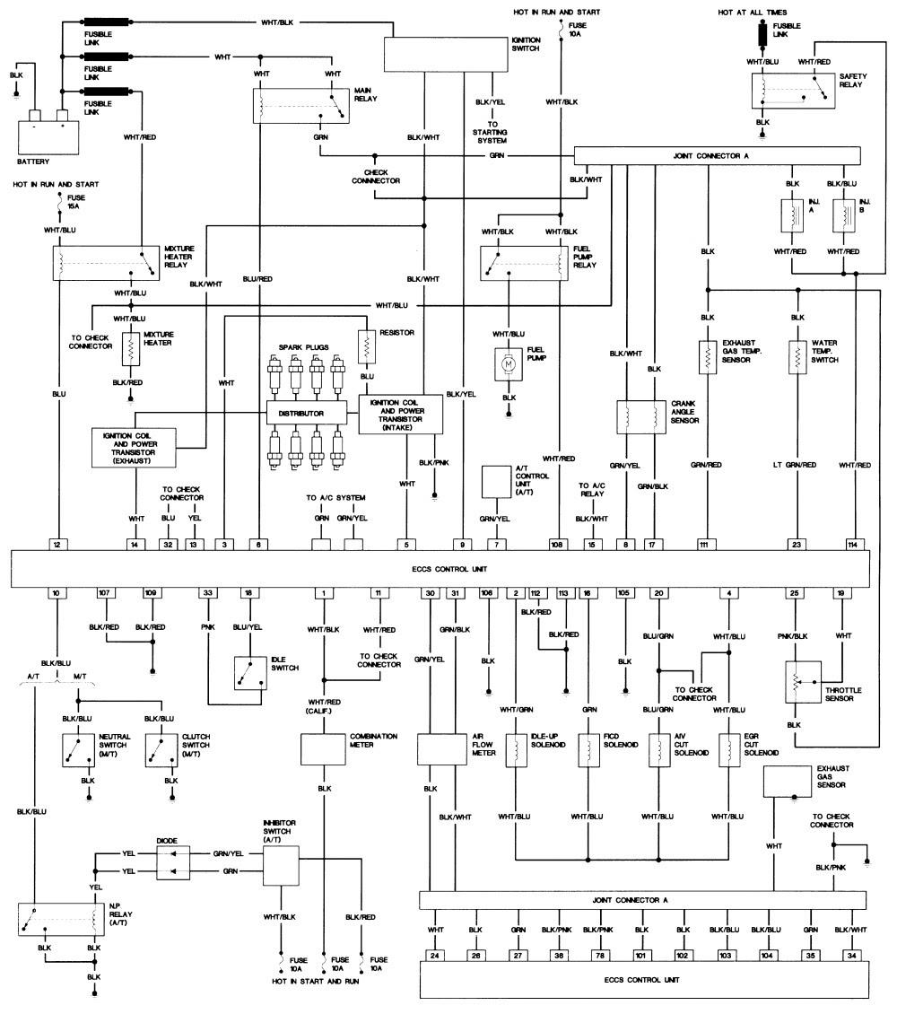 1986 NISSAN PICKUP FUSE BOX DIAGRAM - Auto Electrical ...