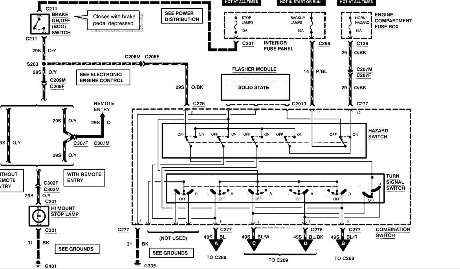 Wiring Diagram PDF: 2003 Contour Wiring Diagram