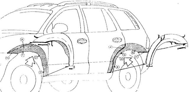 Wiring Diagram Database: Hyundai Santa Fe Body Parts Diagram