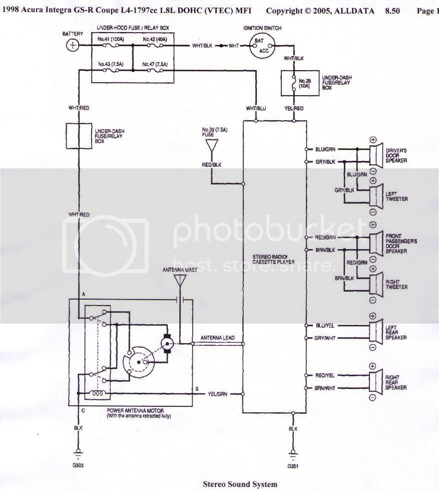 hight resolution of acura tl speaker wiring diagram there you go alldata i never argue with it