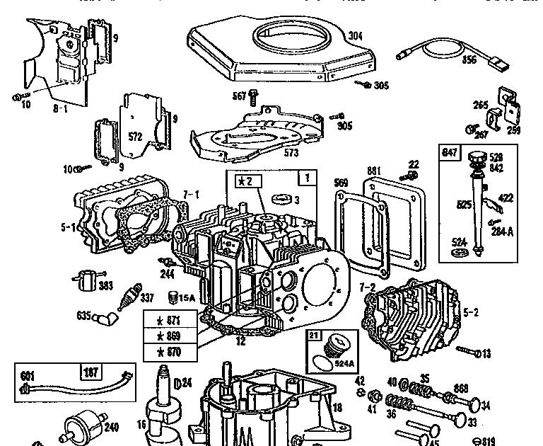 23 Hp Briggs And Stratton Engine Parts Diagram