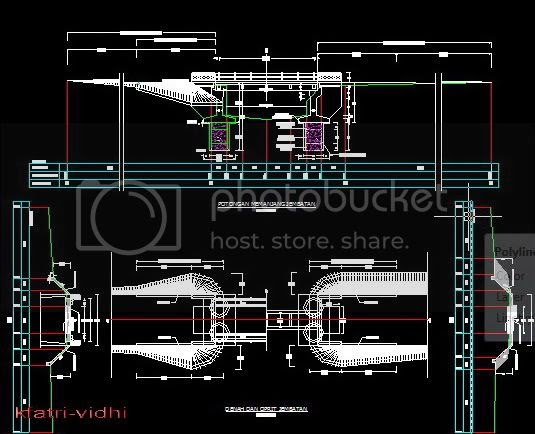KYF BLOGs Download Gambar AutoCad Jembatan
