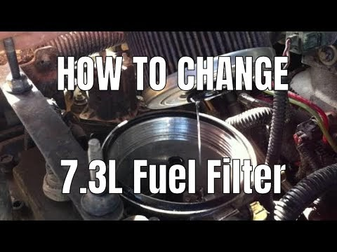 99 Ford F 250 Powerstroke Fuse Box Diagram Diesel Therapy How To Change Fuel Filter On 7 3l Powerstroke