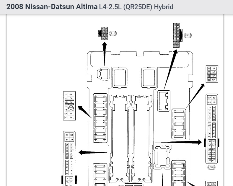 2008 Nissan Altima Stereo Wiring Diagram / 2009 Nissan