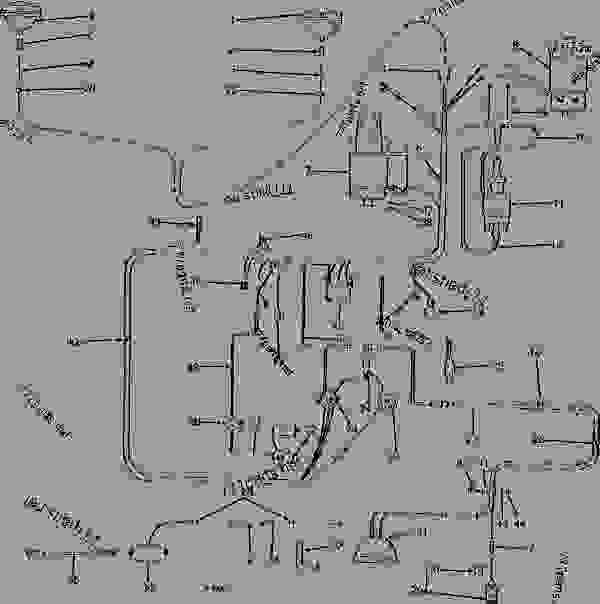 [DIAGRAM] John Deere 1010 Tractor Alternator Wiring
