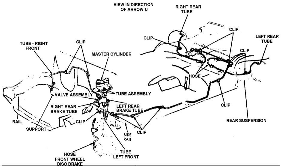 Wiring Diagram: 35 1999 Ford F150 Brake Lines Diagram