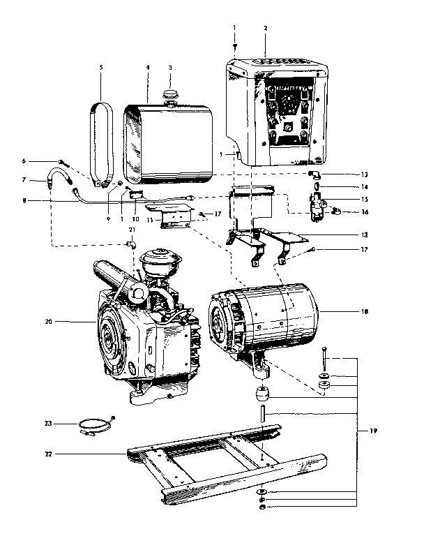 Wiring Diagram: 33 Onan Generator Parts Diagram