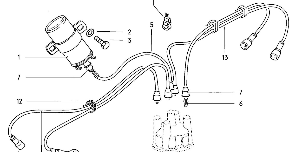 Ignition Coil Wiring Diagram : 12 Volt Ignition Coil