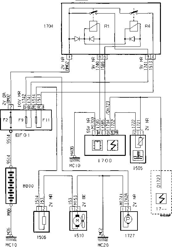Schema De Cablage Berlingo ~ schéma câblage et branchement