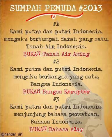 Kata Kata Mutiara Sumpah Pemuda : mutiara, sumpah, pemuda, Sumpah, Pemuda, Bahasa, Sunda, Joglo