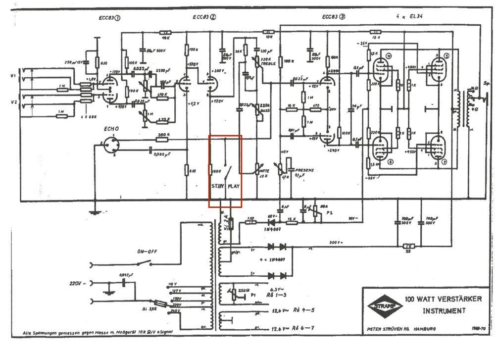 Schaltplan Car Audio Verstarker