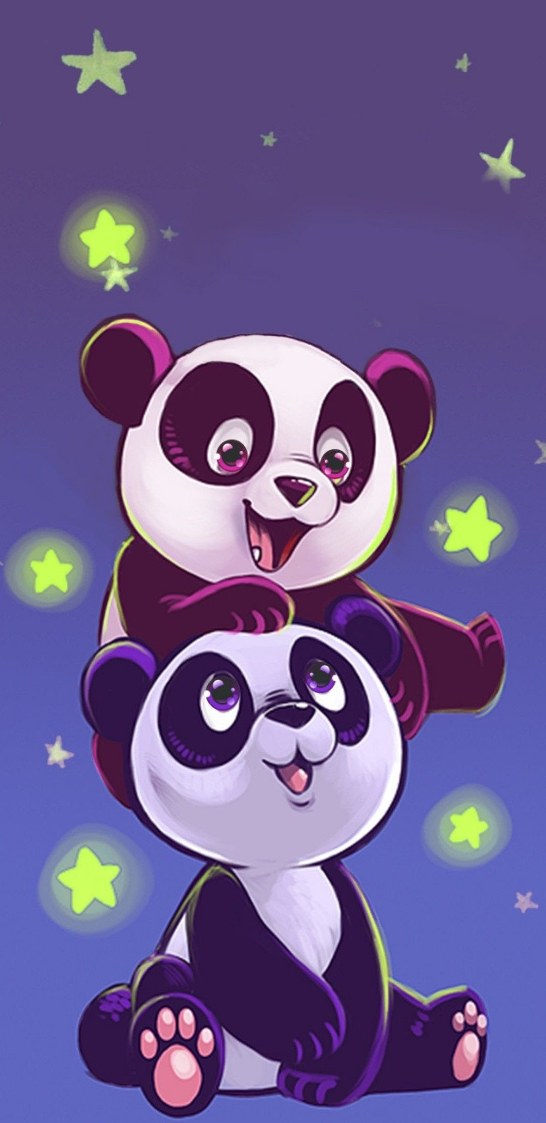 Anime Panda Wallpaper : anime, panda, wallpaper, Anime, Wallpaper, Kawaii, Panda, Tachi