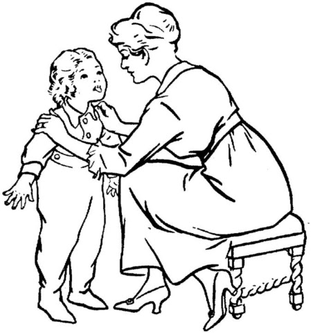 Preschool Coloring Sheets: Girl Scouts Girls Printplay