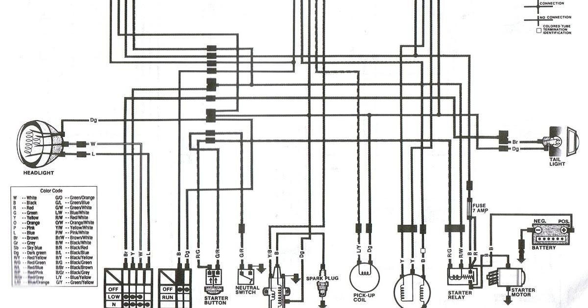Wiring Diagram PDF: 2002 Honda Atv Wiring Diagram Schematic