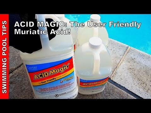 Swimming Pool Tips & Reviews: ACID Magic the User Friendly ...